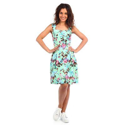 Платье женское Джанка 2058, цвет мятный, р-р 44
