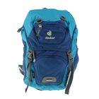 Рюкзак молодежный эргономичная спинка Deuter 43*24*19 Junior, сине-голубой 36029-3352