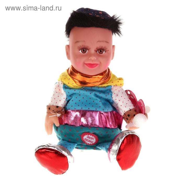 """Мягкая интерактивная игрушка-повторюшка """"Кукла"""""""