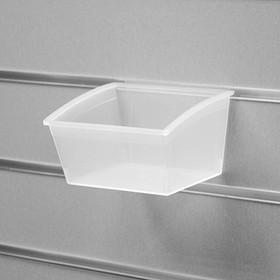 Короб пластиковый 140*136*98, цвет прозрачный
