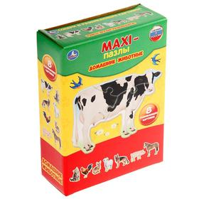 Макси-Пазл «Домашние животные. Картинки»