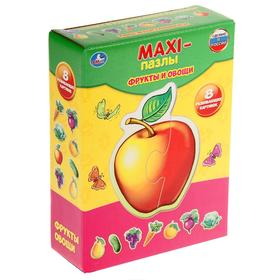 "Maxi-puzzle ""Fruits and vegetables""."