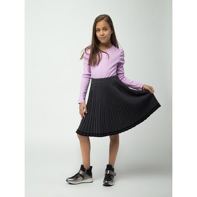 Юбка для девочки, рост 140 см, цвет серый