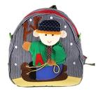 """Мягкий рюкзак """"Мальчик на лыжах"""", цвета МИКС"""