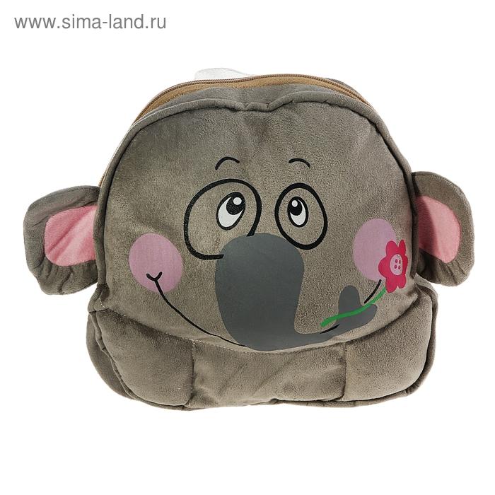 """Мягкий рюкзак """"Слон"""""""