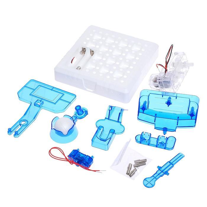 Электронный конструктор «Катапультобол», 15 деталей
