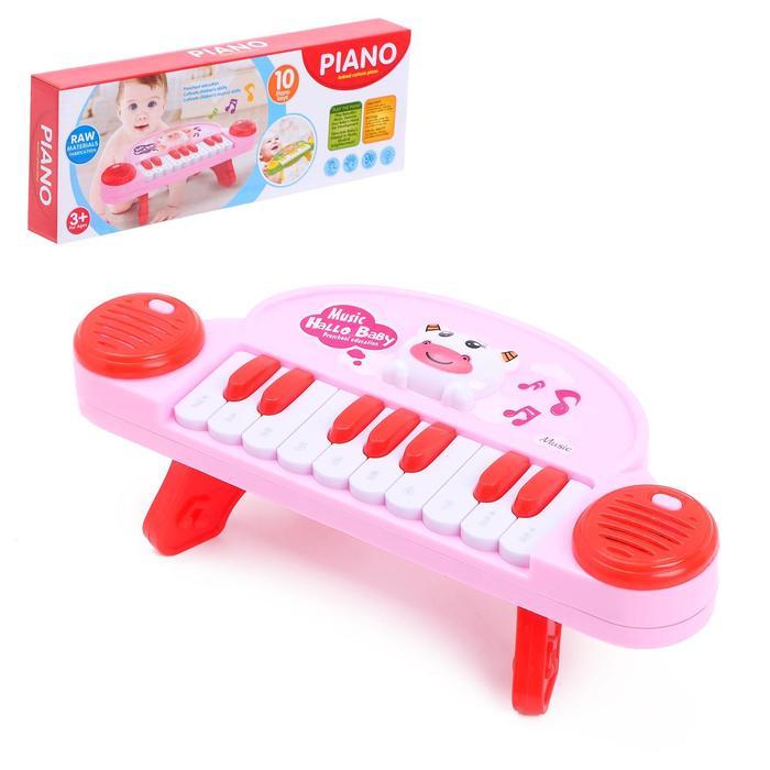 Пианино напольное «Звери», 10 мелодий