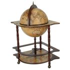 "Globe bar decorative corner ""Map Colombo"" 91х53х53 cm"