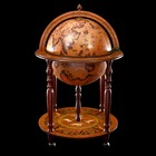 "Decorative globe bar ""Path of Magellan"" 91х60х60 cm"