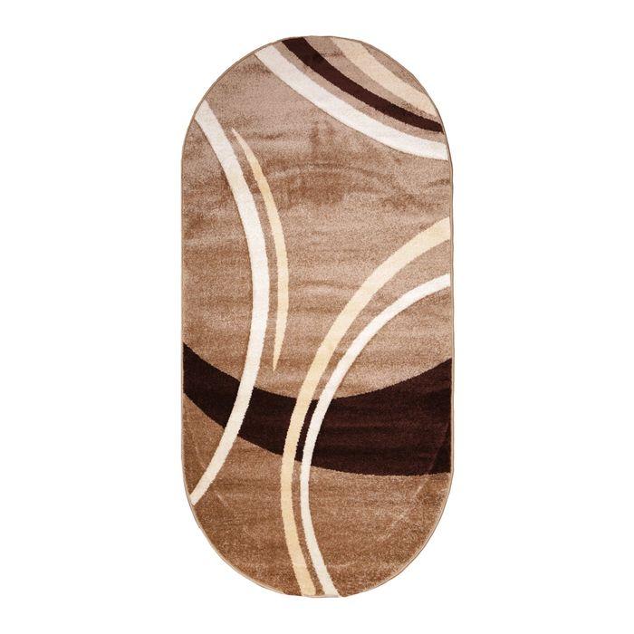 Овальный ковёр Carving 6064, 300 х 400 см, цвет k.beige - фото 7929242