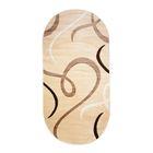 Овальный ковёр Carving 6098, 300 х 400 см, цвет vanilya - фото 7929243