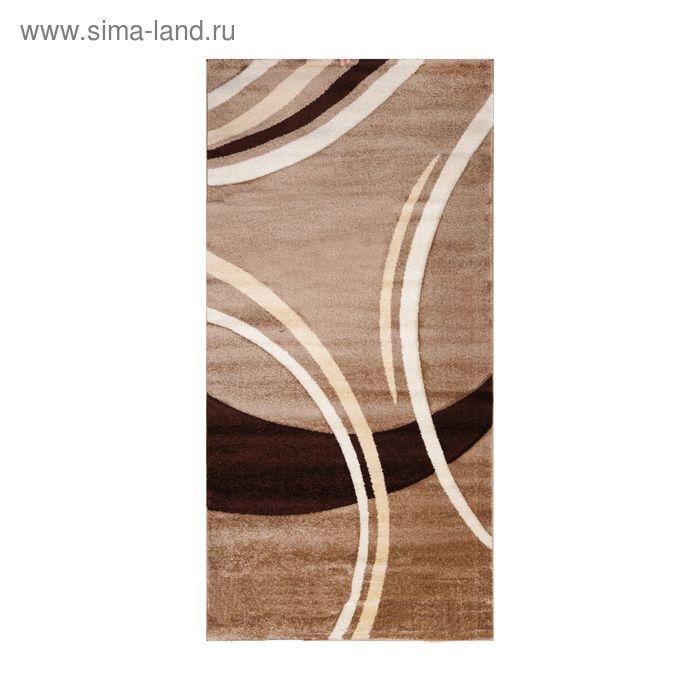 Ковёр FREEZE Carving 6064 K.BEIGE 3.0*5.0  м, прямоугольный