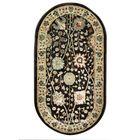 Овальный ковёр Jewel 8571, 200 х 300 см, цвет plum/ivory - фото 7929262