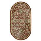 Овальный ковёр Jewel 8944, 80 х 150 см, цвет rust/rust - фото 7929264