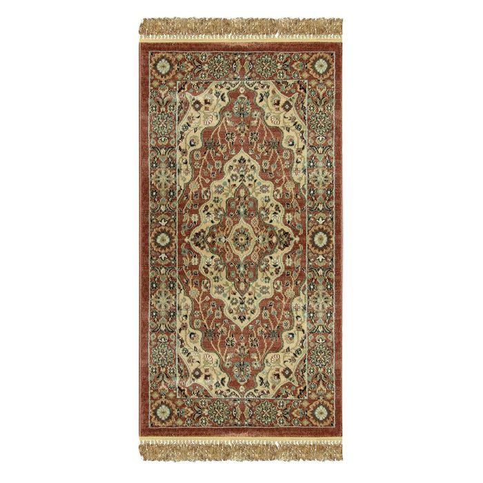 Прямоугольный ковёр Jewel 8570, 80 х 150 см, цвет rust/rust - фото 7929270
