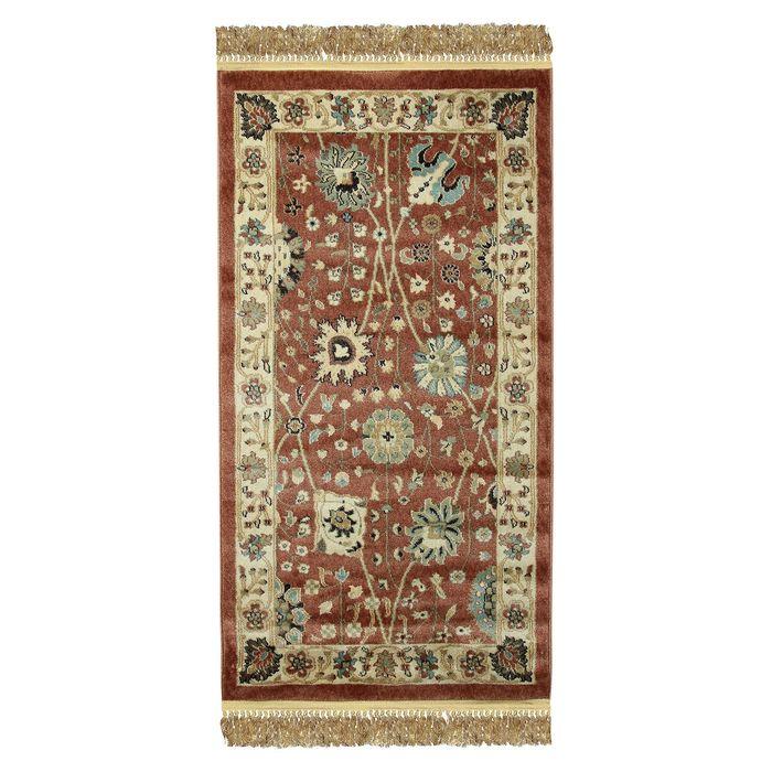 Прямоугольный ковёр Jewel 8571, 80 х 150 см, цвет rust/ivory - фото 7929273