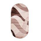 Овальный ковёр Omega Hitset 4878, 300 х 400 cм, цвет bone-beige - фото 7929052