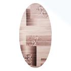 Овальный ковёр Omega Hitset 7768, 150 х 500 cм, цвет bone-beige - фото 7929059