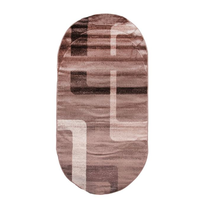 Овальный ковёр Omega Hitset F579, 250 х 450 cм, цвет bone-beige - фото 7929061