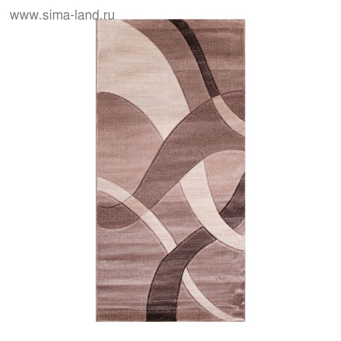 Ковёр Omega Hitset 7690 BONE-BEİGE 2.5*4.5 м, прямоугольный