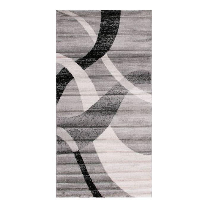 Прямоугольный ковёр Omega Hitset 7690, 250 х 500 cм, цвет bone/d.grey - фото 7929067