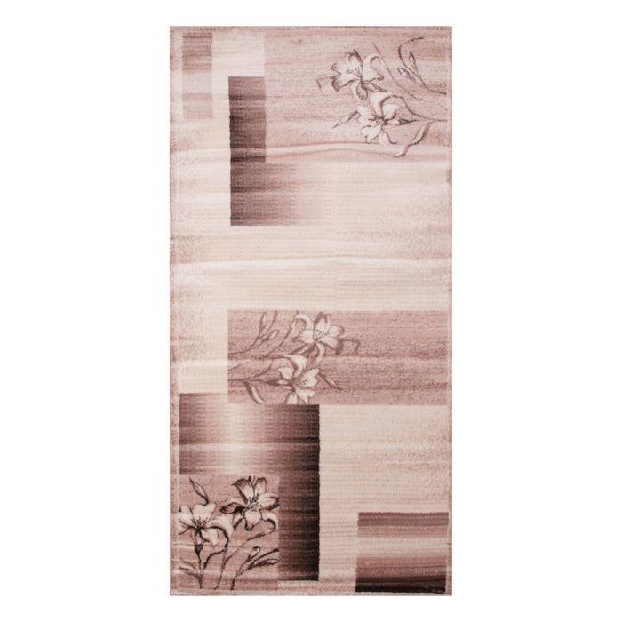 Прямоугольный ковёр Omega Hitset 7768, 100 х 200 cм, цвет bone-beige - фото 7929068