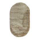 Овальный ковёр Portofino Mega 2236, 80 х 150 см, цвет d.beige/d.beige - фото 7929071