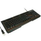 Клавиатура Dialog Gan-Kata KGK-21U, игровая, проводная, мембранная, подсветка, USB, черная