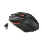 Мышь Nakatomi Navigator MRON-08U, беспроводная, оптическая, 1600 dpi, USB, черная