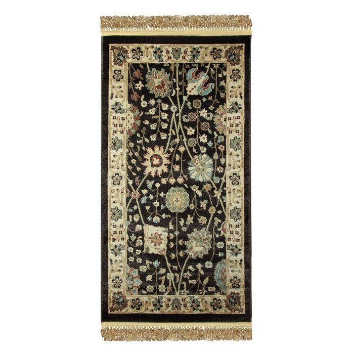 Прямоугольный ковёр Jewel 8571, 80 х 150 см, цвет plum/ivory - фото 7929301