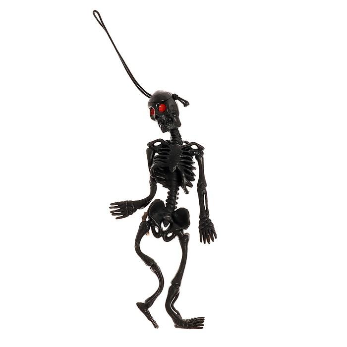 """Подвеска """"Скелет"""", цвет черный"""