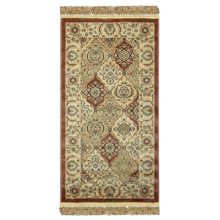 Прямоугольный ковёр Jewel 8946, 120 х 180 см, цвет rust/ivory - фото 7929310