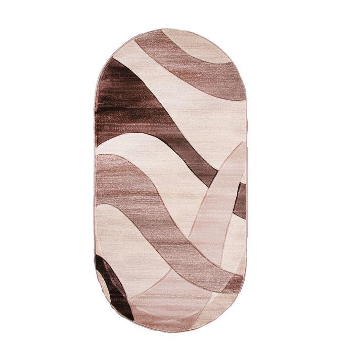 Овальный ковёр Omega Hitset 4878, 150 х 500 cм, цвет bone-beige - фото 7929073