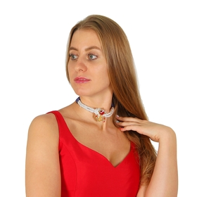 """The carnival accessory """"sailor"""" on the neck"""