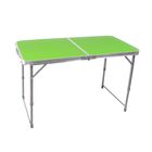 Стол пластик складной зеленый ССТ-3