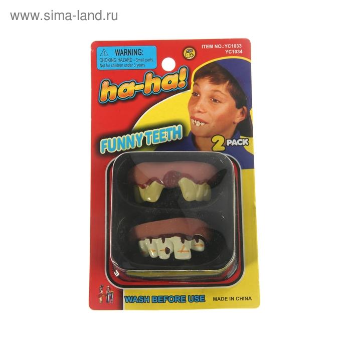 """Прикол """"Кривые зубы"""""""