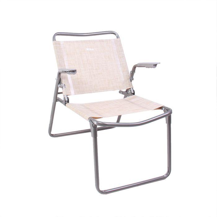 Кресло-шезлонг складное, К1, 73 x 57 x 64 см, ткань сетчатая
