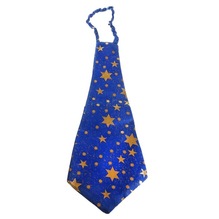 "Галстук ""Гигант"", со звёздами, цвет синий"