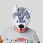 "Шапка ""Собака Хаски""  обхват головы 52-57см"