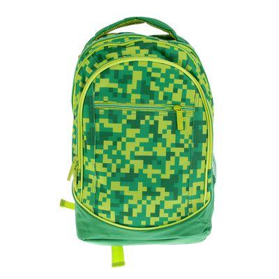 Рюкзак молодежный эргономичная спинка Hatber 42*30*20 Street «Камуфляж», зелёный NRk_17088