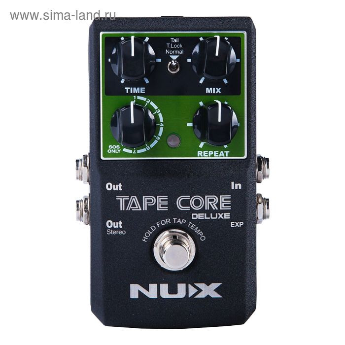Педаль эффектов Nux Cherub Tape-Core-Deluxe