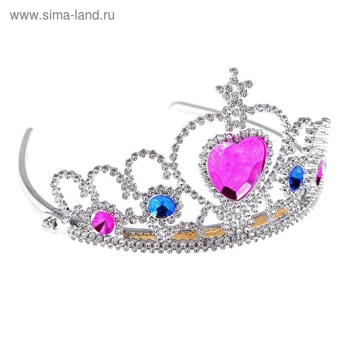 "Корона ""Царица"" со стразами"