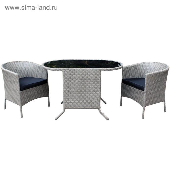 """Комплект мебели """"На двоих"""", серый"""