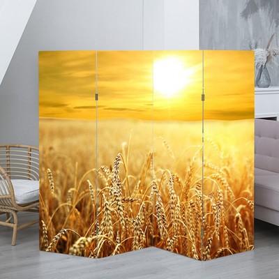 """Ширма """"Пшеничное поле"""", 200 × 160 см"""