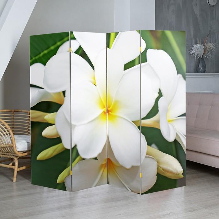 """Ширма """"Тропические цветы"""", 200 × 160 см"""
