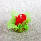 Свеча ароматическая «Бутон розы», ручная работа, красная, 4.5 х 3.5 см