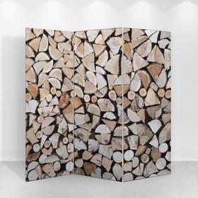 Ширма 'Дровница', 160 × 150 см Ош