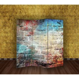 "Ширма ""Уличная стена"", 160 × 150 см"
