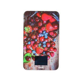 Весы кухонные BBK KS107G, электронные, до 5 кг, сине-красные