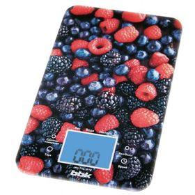 Весы кухонные BBK KS107G, электронные, до 5 кг, чёрно-красные